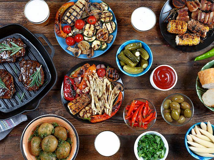 肉料理を中心とした数々の料理
